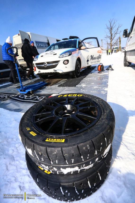 Zimowe testy Lubiak, Herban, Kasperczyk – Jasionka 2018